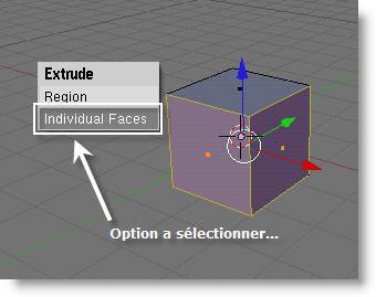 Etape n°1 : Séléction des faces...